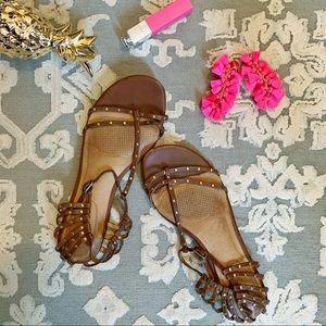 Corso Como Gladiator Felicia Sandals 7.5 studded